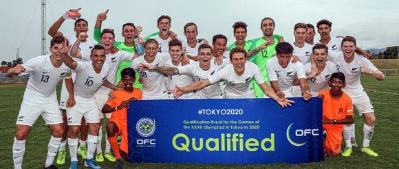 New Zealand Name Olympic Soccer Squads